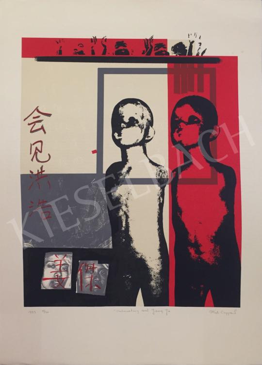 Eladó  Miek Coppens - Ontmoeting met Jiang Ju, 1997 festménye