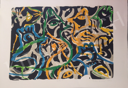 For sale Bodor, Anikó - Sov-ata I., 1993 's painting