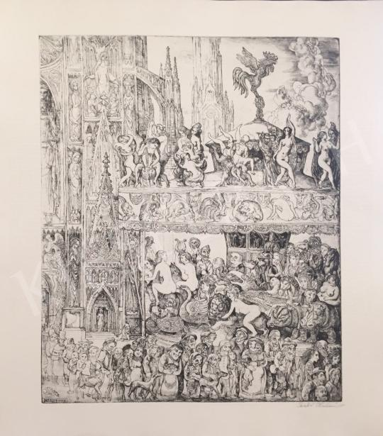 For sale  Szabó, Vladimir - Carousel, 1973 's painting