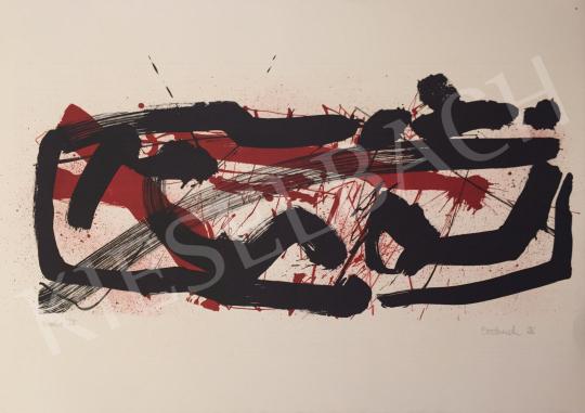 Eladó  Ismeretlen művész Oestreich szignóval - Probe IV. 1996 festménye