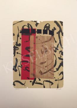 Ismeretlen művész Oestreich szignóval - Probe V., 1998