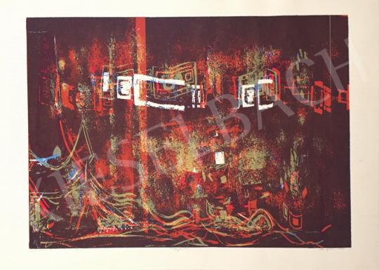 Eladó Haász Ágnes - Fénymetszés II, 1995 festménye