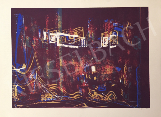 For sale Haász, Ágnes - Light Pruning I., 1995 's painting