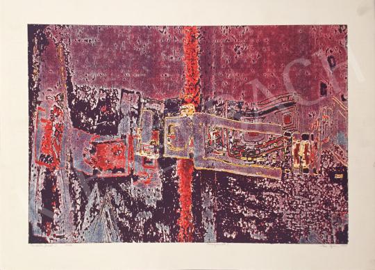 Eladó Haász Ágnes - Variációs formák I., 1995 festménye