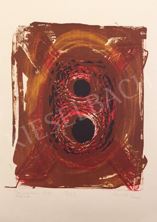 Eladó Krizbai Sándor - Trepanációs karcok, 1998 festménye