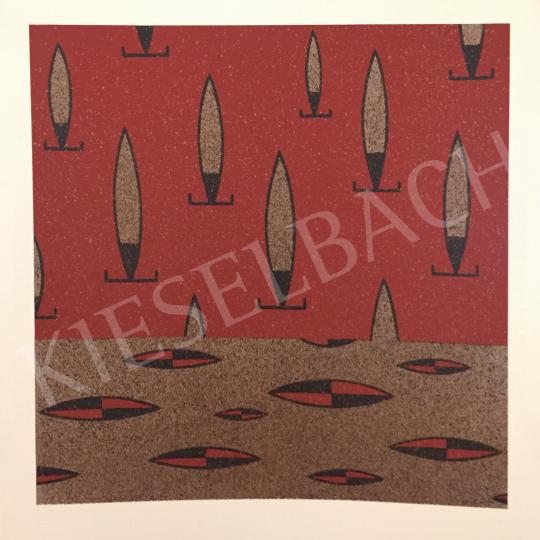 Eladó Kótai Tamás - Közönséges pajzs, 1993 festménye