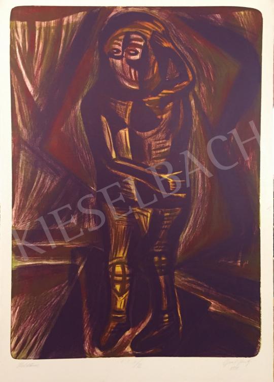 Eladó Gaál József - Holdkóros, 1998 festménye