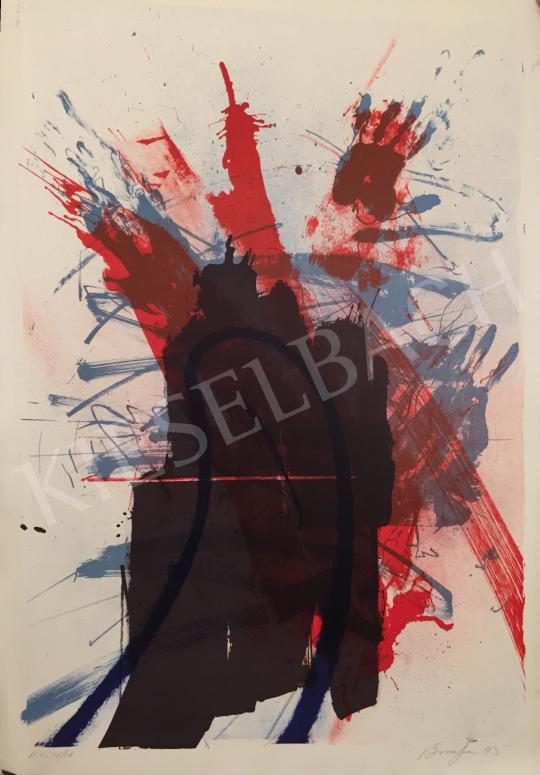 Eladó  Frederick D. Bunsen - Sebek, 1993 festménye