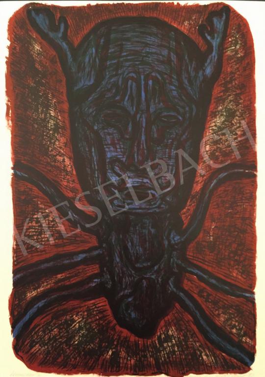 Eladó Gaál József - Homogram IX.; 1993 festménye