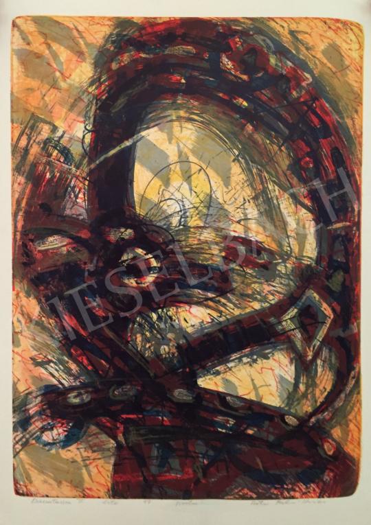 Eladó  Kovács Péter Balázs - Kompozíció, 1997 festménye