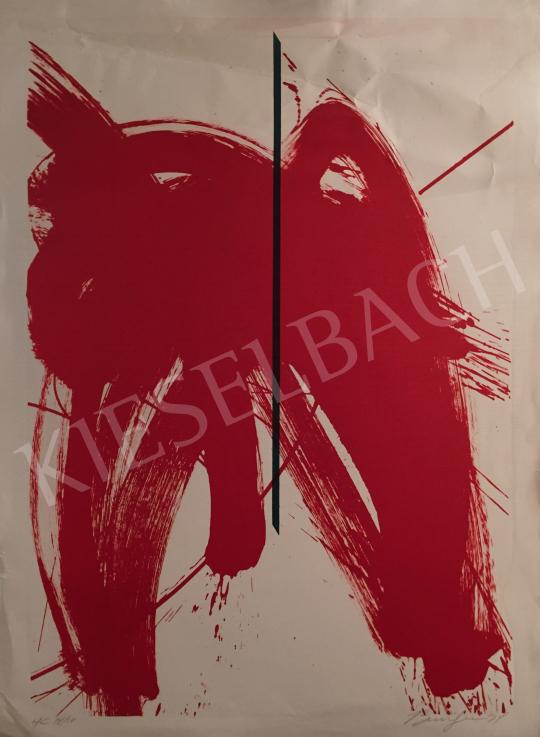 Eladó  Frederick D. Bunsen - Cím nélkül, 1997 festménye