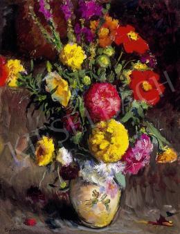 Boldizsár István - Virágcsendélet