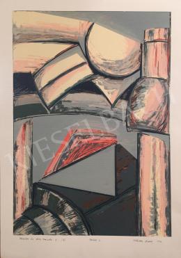 Győrffy Sándor - Kemény és lágy formák II., 1993