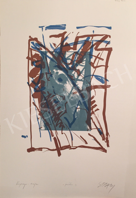 For sale Szirányi, István - Skull Drawing, 1995 's painting