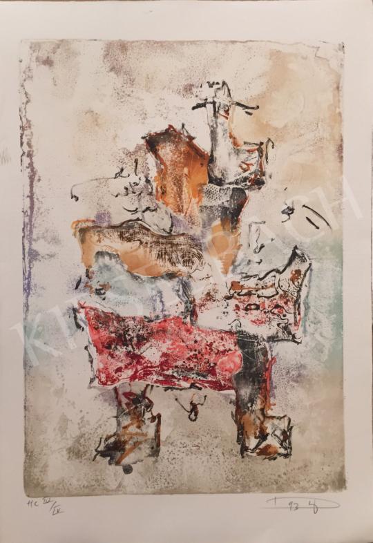 For sale Tuzson-Berczeli, Péter - Untiteled, 1993 's painting