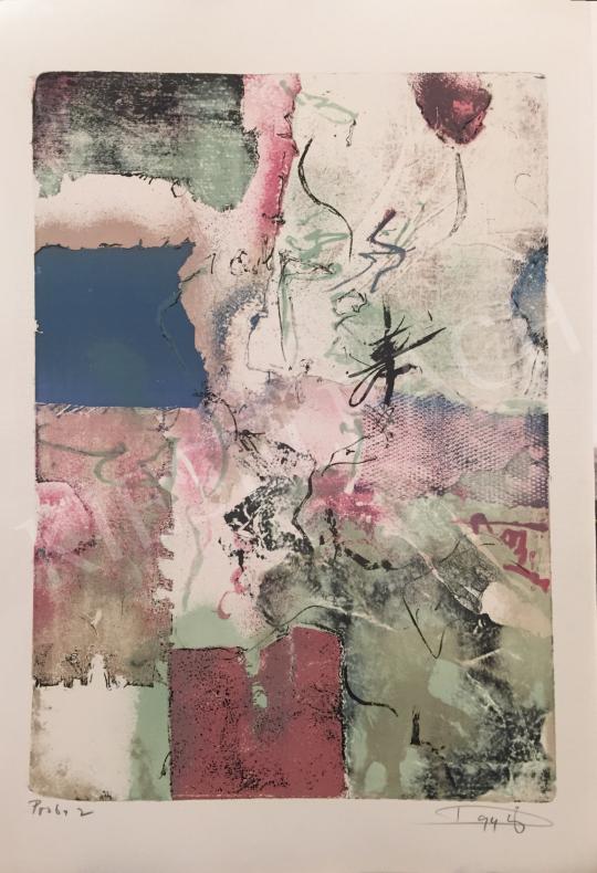 Eladó Tuzson-Berczeli Péter - Proba 2, 1994 festménye