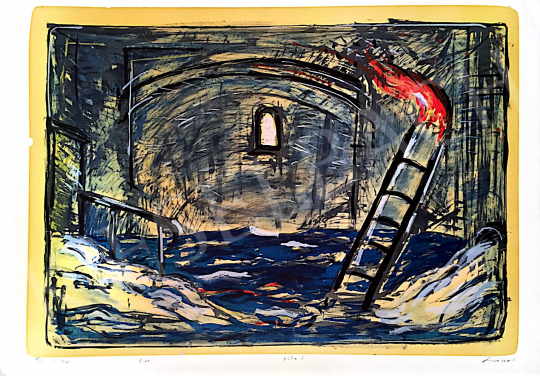 For sale  Sinkó, István - Fire and Water, 2001 's painting
