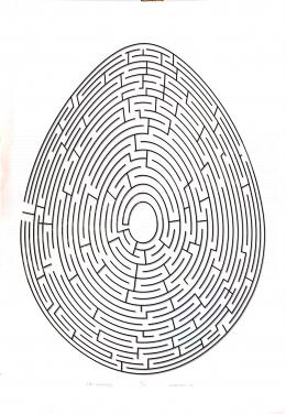 Prutkay Péter - A nagy labirintus tojás, 1996