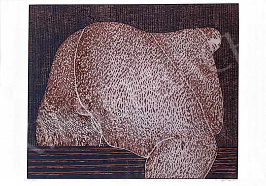 Eladó Benes József - Husika II, 1999 festménye
