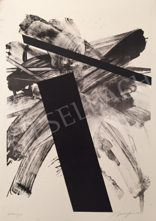 Eladó  Frederick D. Bunsen - Proba III/III, 2000 festménye
