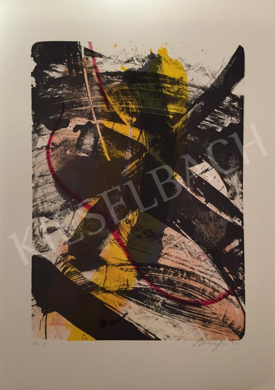 Eladó  Frederick D. Bunsen - Cím nélkül, 1994 festménye