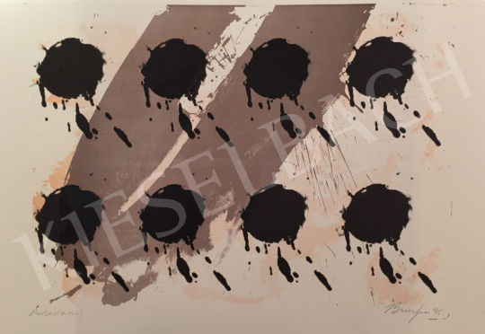 For sale  Frederick D. Bunsen - Proba 2 (bottom), 1996 's painting