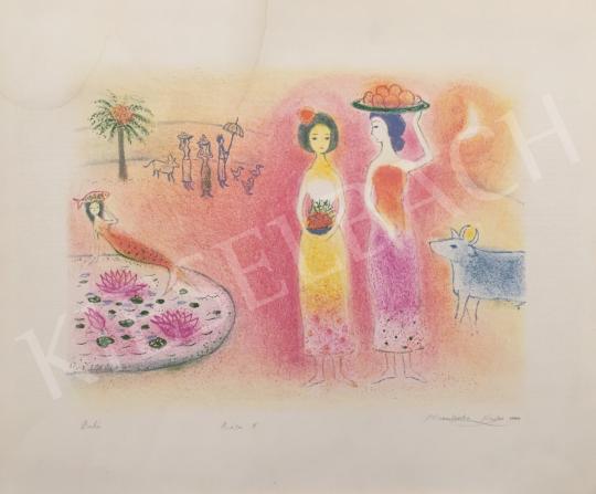 Eladó  Naoko Minamizuba - Bali, 2000 festménye