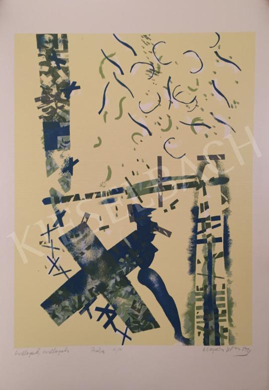Eladó  Magén István - Csillagok, csillagok, 1993 festménye