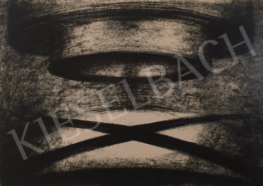 Eladó  Péter Ágnes - Transzparens szimmetria V., 1998 festménye