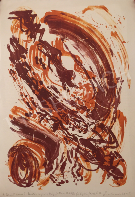 For sale  Swierkiewicz, Róbert - The Joy of Creation I., 1993 's painting