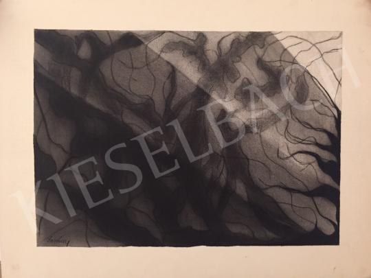 Eladó  Dombay Lelly - Nonfiguratív kompozíció festménye
