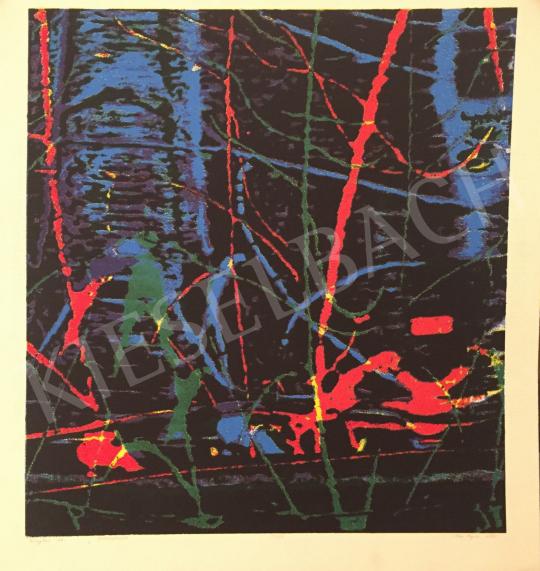 Eladó Haász Ágnes - Fénykarc, 1997 festménye