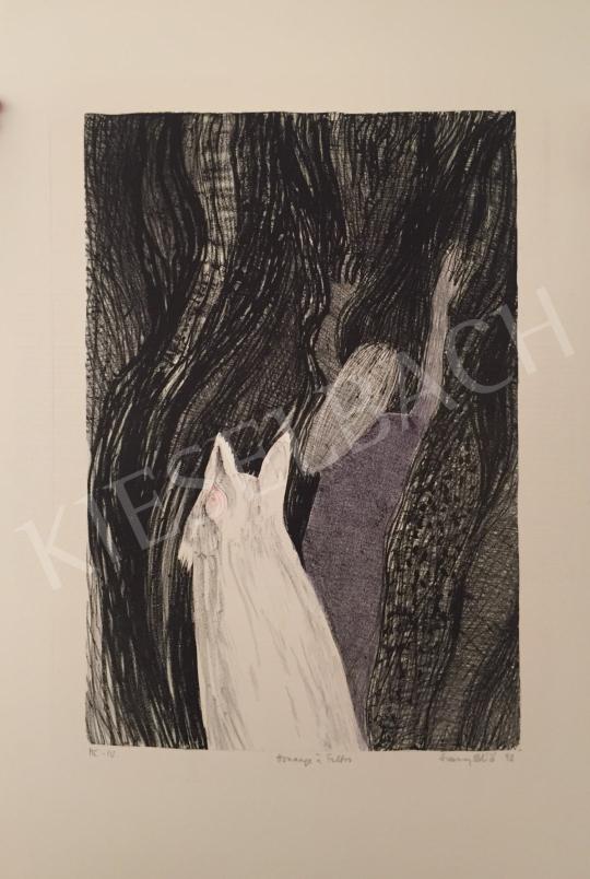 Eladó Simsay Ildikó - Hommage á Foltos, 1993 festménye
