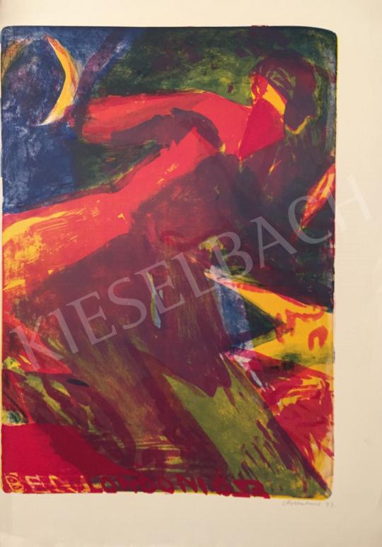 Eladó Vilhelm Károly - Londoni ősz, 1993 festménye