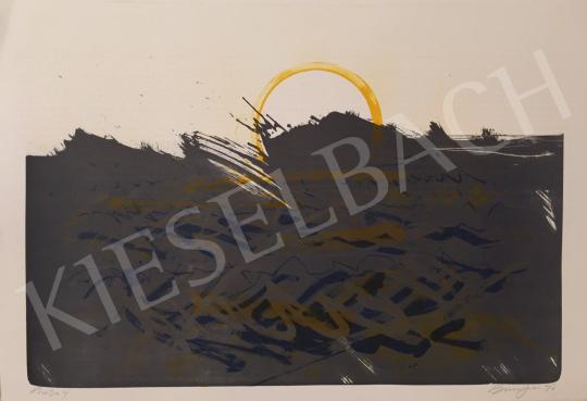 Eladó  Frederick D. Bunsen - Napkelte, 1997 festménye