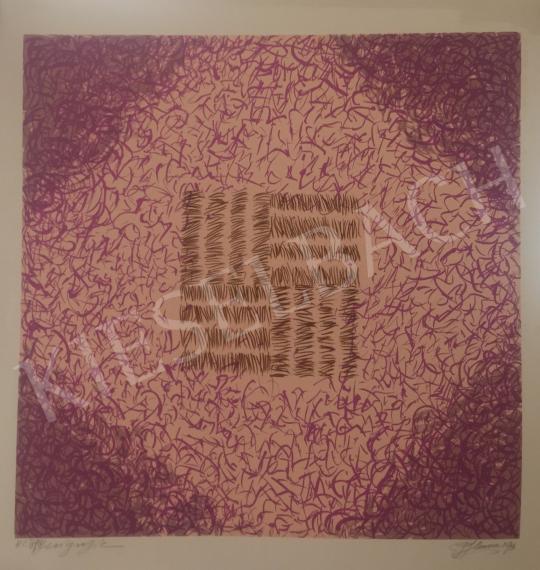 Eladó  Ismeretlen művész, Ileana jelzéssel - Kompozíció, 1993 festménye