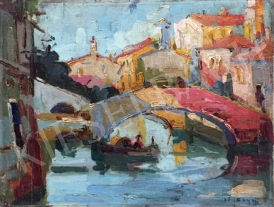 Négely Rudolf - Velence festménye
