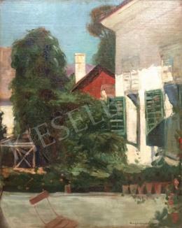 Burghardt Rezső - Udvar, 1909