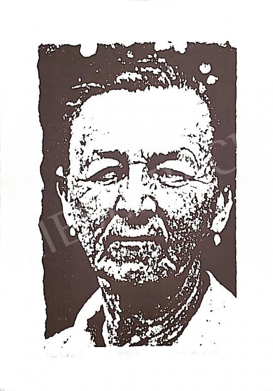 Eladó Bodor Anikó - Székely indián, 1995 festménye