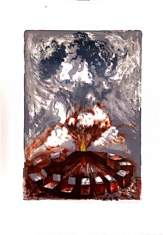 Eladó Zsankó László - Kitörés, 2000 festménye