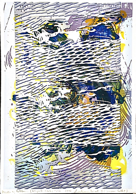 For sale  Swierkiewicz, Róbert - Hindu in the Moon, 1997 's painting