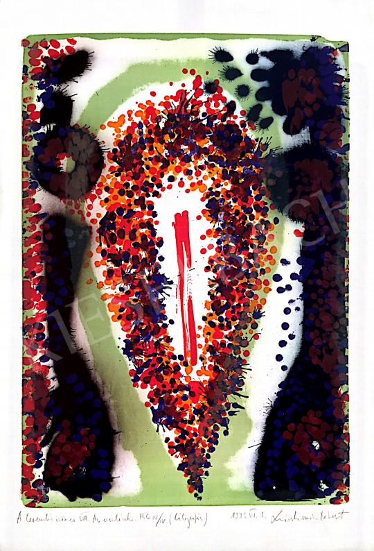 Swierkiewicz Róbert - A teremtés örömei VIII., 1993 festménye