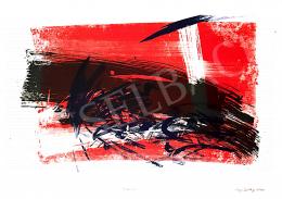 Kiss Zoltán - Vörös-kék kompozíció, 2000
