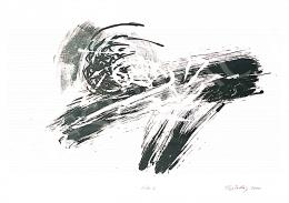 Kiss Zoltán - Zöld kompozíció, 2000
