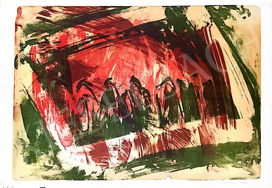 Eladó  Kiss Zoltán - Kompozíció IV., 2002 festménye