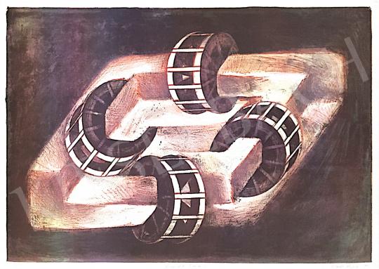Eladó Zsankó László - Paradox malom, 1997  festménye