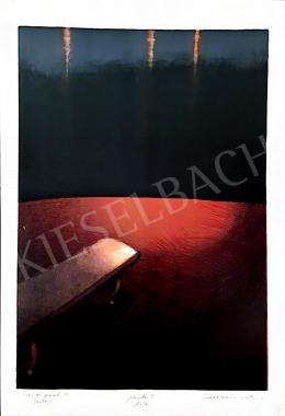 Sóváradi Valéria - Víz és part III. (Este) , 2000