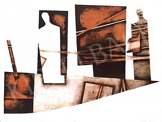 Eladó  Nádas Alexandra - Kötődések, 2002 festménye