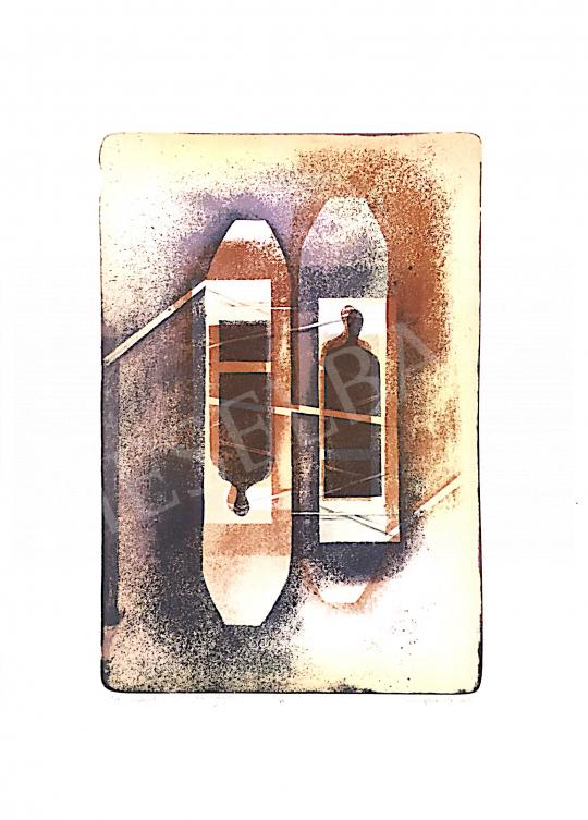 Eladó  Nádas Alexandra - Kikötés/Kötődések, 2001 festménye