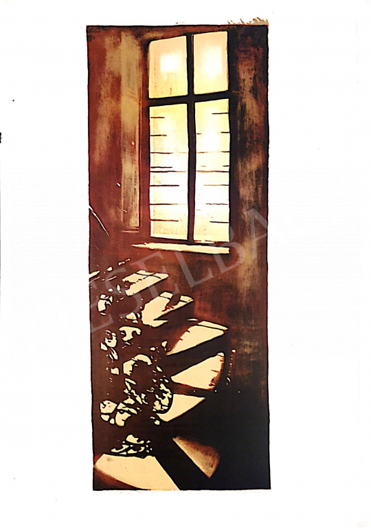 For sale  Nádas, Alexandra - Barriers and Crosses VII., 2001 's painting